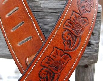 BadAss Custom Guitar Strap By Belt Up - Southern Belle