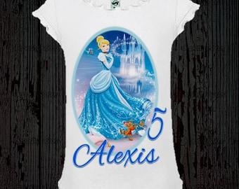 Cinderella Birthday Shirt - Cinderella Shirt