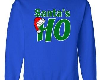 Santa's Ho Funny Christmas Sweater