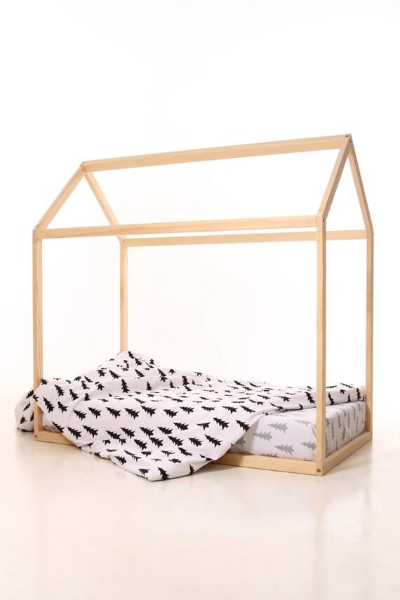 enfants maison lit 190x90cm lit b b lit maison tente lit. Black Bedroom Furniture Sets. Home Design Ideas