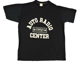 80's VINTAGE Auto Radio Center MEN'S T Shirt Large