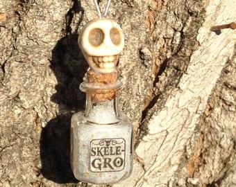Harry Potter Inspired Skele-Gro Necklace