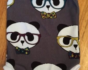Handmade size 0 Geeky Panda Singletsuit