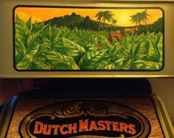 Vintage Dutch Masters Cigar Metal Tin (empty)