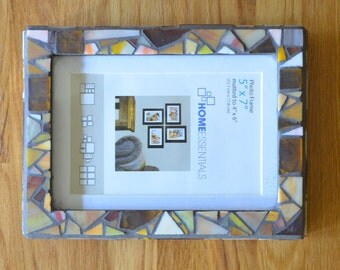 Mosaic Picture Frame.