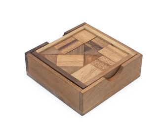 Wooden Toy : Surprise Box - The Organic Natural Puzzle Game Play for Baby and Kids