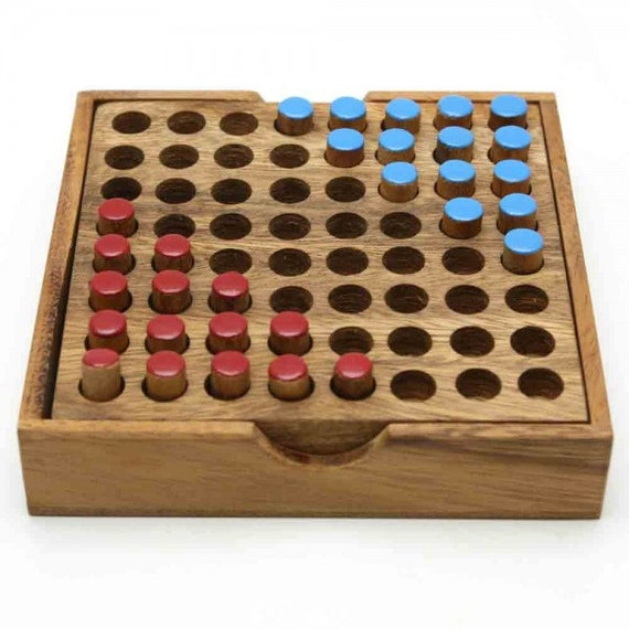 Board Games Toy : Wooden toy head to pin board game the organic