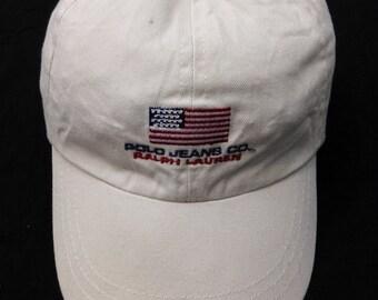 Polo Jeans.Co Ralph Lauren Hat Cap Adjustable Size S/M