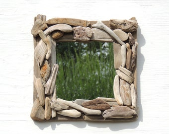Driftwood Mirror Driftwood Pieces