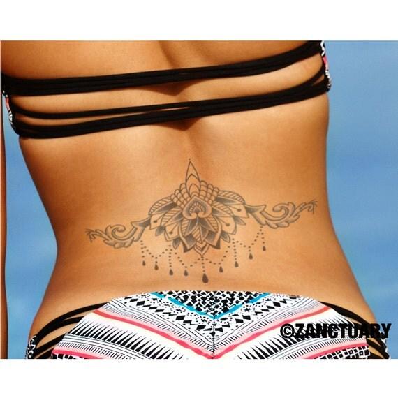 Amato Mandala tatuaggio Lotus tatuaggio temporaneo Lotus Tattoo RJ62