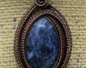 copper jewelry, handmade jewelry, wire wrapped pendant, wire wrapped jewelry, wire wrapped, wire wrap, woven wire jewelry, copper pendant
