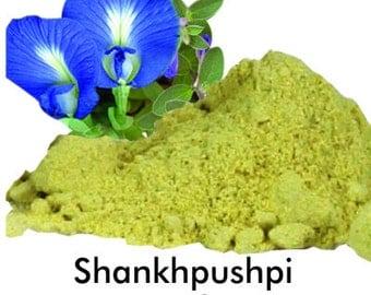 SHANKHAPUSHPI Convolvulus Pluricaulis Chois (Convolvulus microphyllus Sied. Ex. Spring) speedwheel Powder Organic Natural and fresh