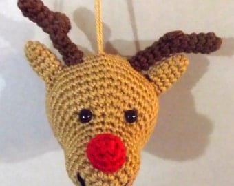 Tutoriel en français de la boule de Noël : Le cerf