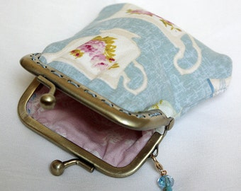 Tea cup coin purse
