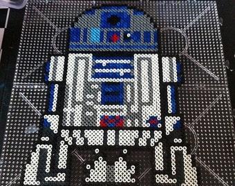 Perler Bead Art - Star Wars - R2D2