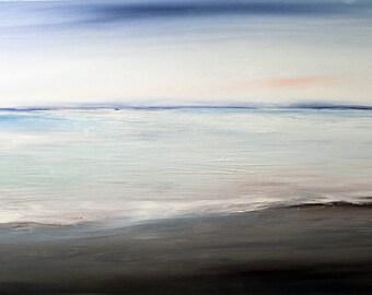 OOAK Oil Painting Sea Canvas Art Large Original Oil Painting Big Seascape Beach Painting Canvas wedding Gift