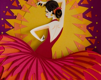 Limited Edition: Flamenco Dancer Print