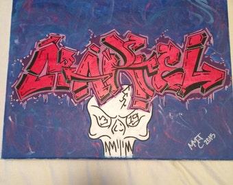 Canvas Art - Graffiti