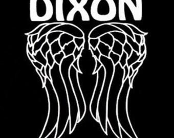 The Walking Dead DARYL DIXON Car Truck Wall Laptop Window Vinyl Decal