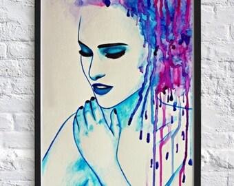 Color Splash Fine Art Print