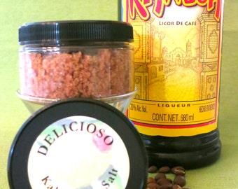 Kahlua Infused Organic Sea Salt