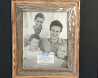 8x10 Reclaimed Barn Wood Picture Frame