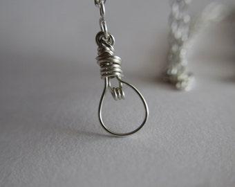 I've got an idea! - Light Bulb Pendant Chain Necklace