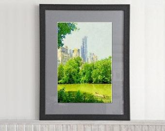 Watercolor City (city park)
