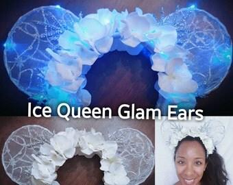 Glam Ears- Multiple Styles (LED lights optional)