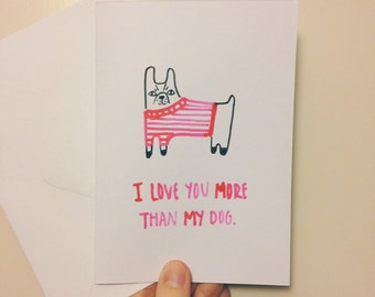 I Love You More Than My Dog