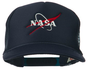NASA Logo Embroidered Youth Foam Mesh Cap