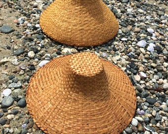 Traditional Coast Salish Red Cedar Bark Hats