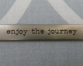 Tim Holtz Idea-ology word band - Enjoy the Journey
