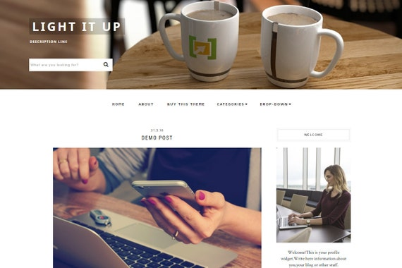 My 5 Favorite Blogger Templates by march to december