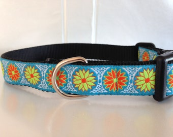 Spring Flower Dog Collar