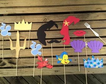 The Little Mermaid Photo prop