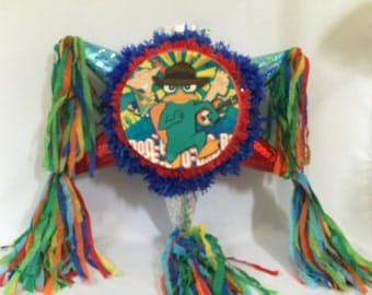 Phineas and Ferb Pinata Handcrafted