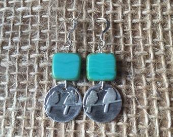 Two Little Birds Earrings