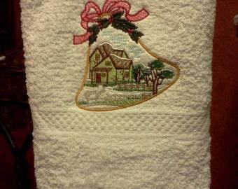 kitchen towel / bottle wrap