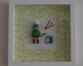 Frame figurine Playmobil ROBIN hood