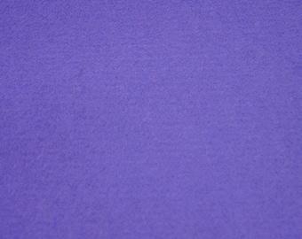 100% Wool Felt Fabric Material - 1mm - Indigo