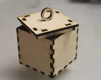 Beginner Laser Vector Box File