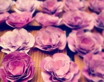 Custom Handmade Paper Flowers