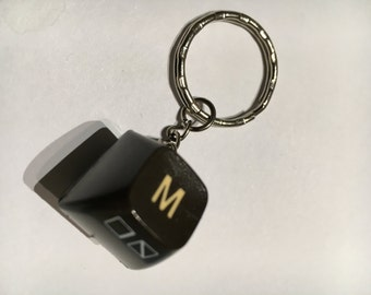 Commodore 64 key chain with your initials