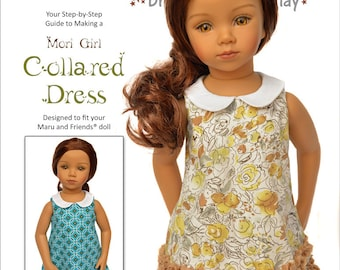 Mori Girl Collared Dress for Maru and Friends