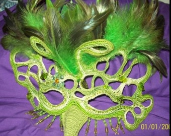 Rainforest Fairy Masquerade Mask