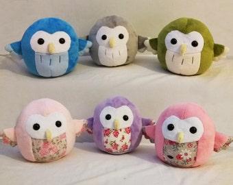 Custom Owl Plushies