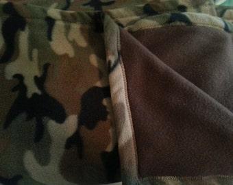 Camo Fleece Blankets