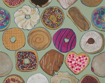 Donuts: 8x10 print