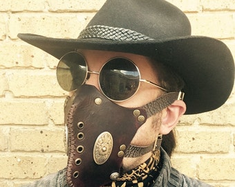 Wastelands Leather Facemask